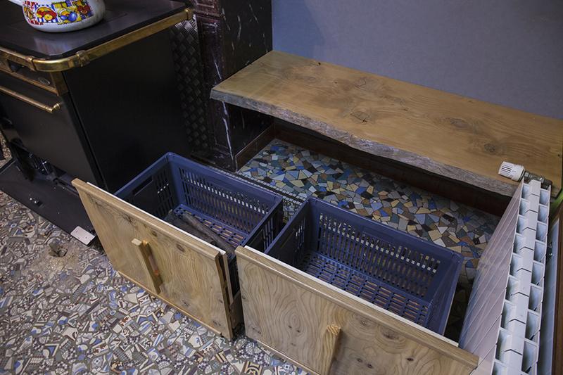 [Fabrication] Un habillage de cheminée en cèdre - Page 3 Bacs_p10