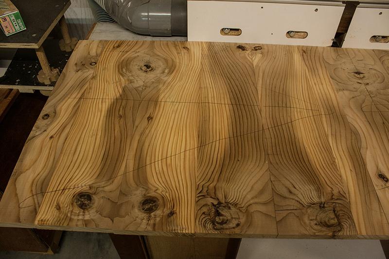 [Fabrication] Un habillage de cheminée en cèdre Dessin10