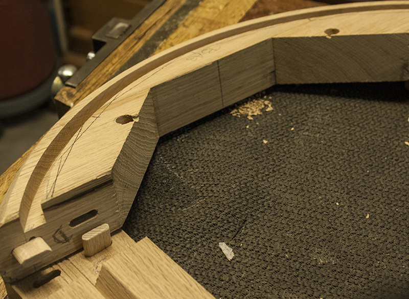 [Fabrication] Un habillage de cheminée en cèdre - Page 3 Domino13