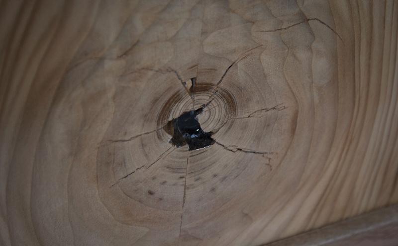 [Fabrication] Un habillage de cheminée en cèdre - Page 3 Epoxy-10