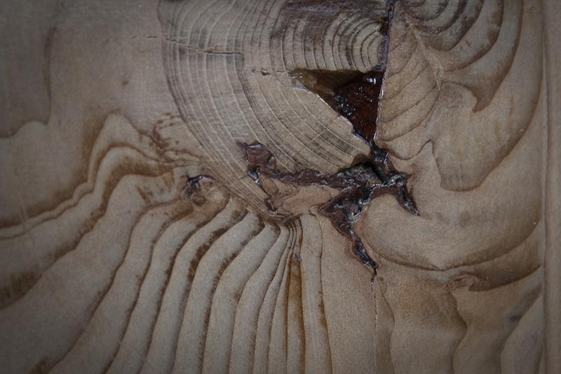[Fabrication] Un habillage de cheminée en cèdre - Page 3 Epoxy-13