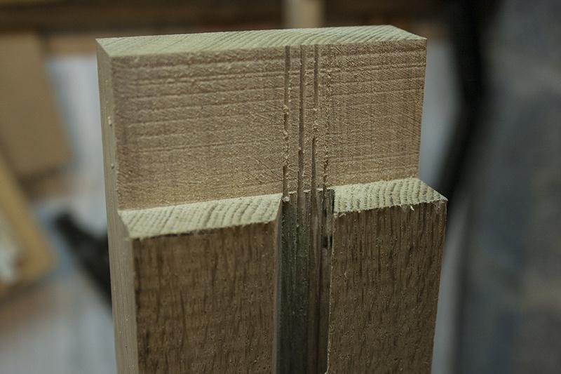[Fabrication] Un habillage de cheminée en cèdre - Page 3 Mise_d10