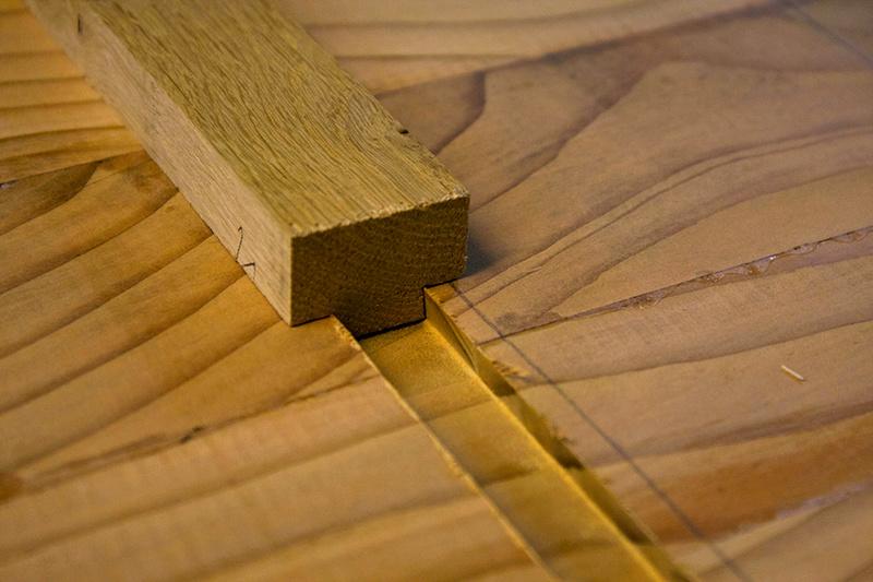 [Fabrication] Un habillage de cheminée en cèdre Qa_mis10