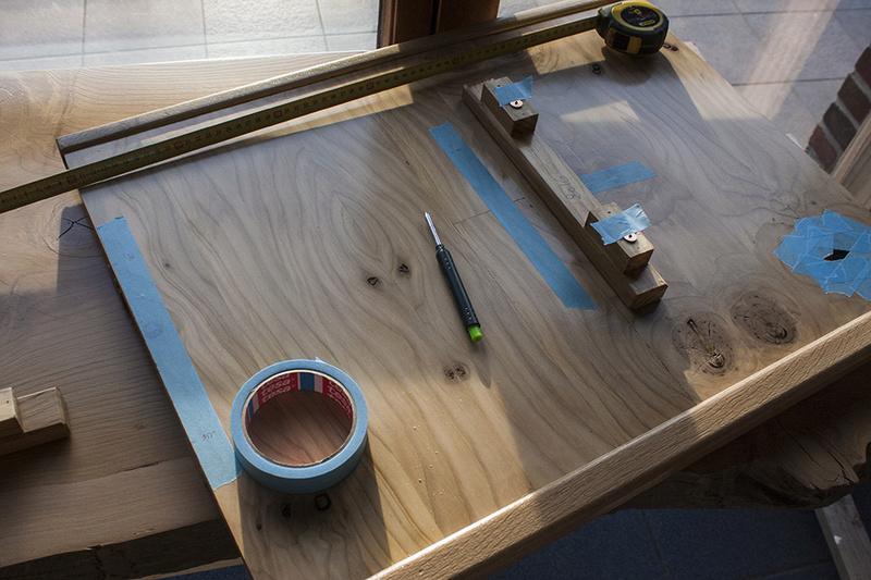 [Fabrication] Un habillage de cheminée en cèdre - Page 3 Soluti10