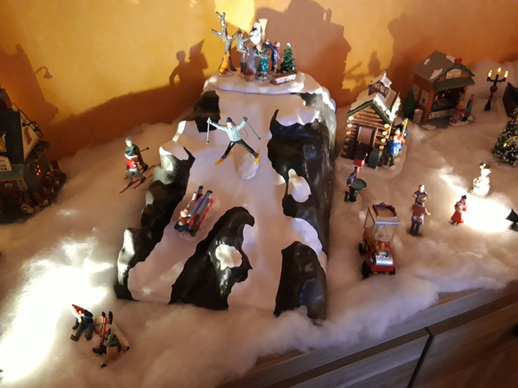 Mon village de Noël  20181212