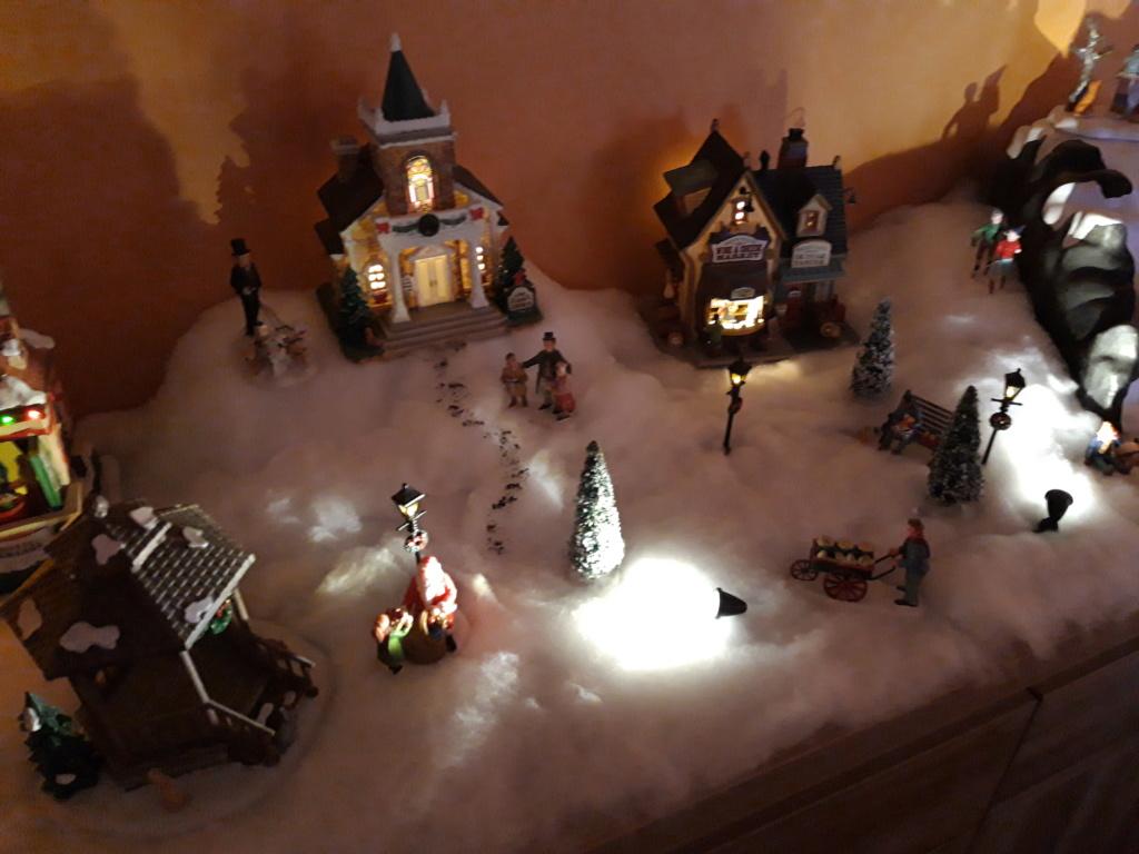 Mon village de Noël  20181213