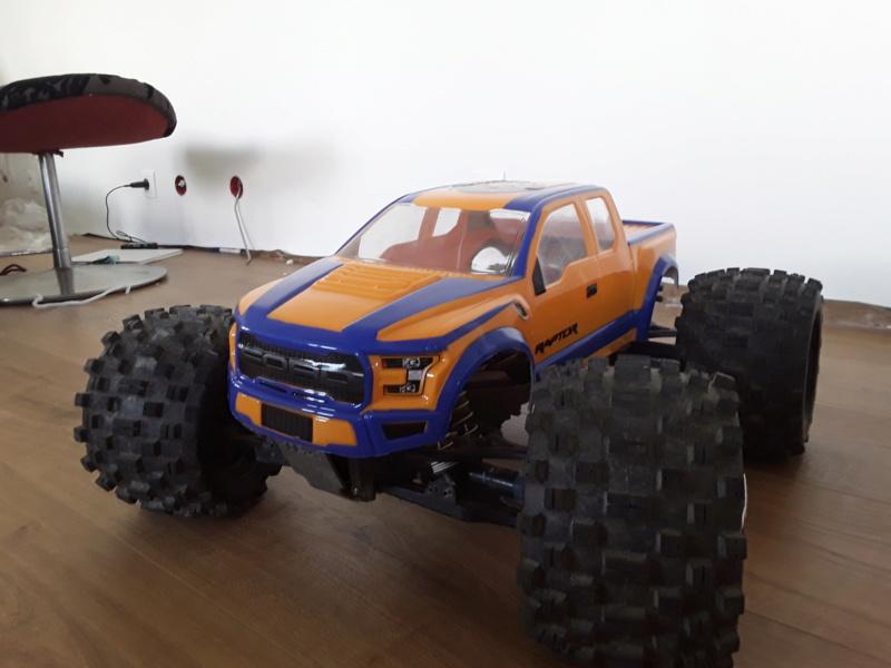 Carrosserie ford raptor f150 pro-line 20200519