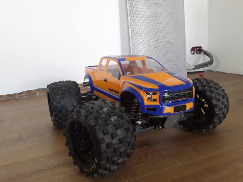 Carrosserie ford raptor f150 pro-line 20200520