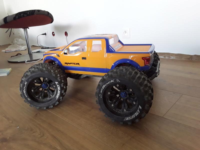 Carrosserie ford raptor f150 pro-line 20200521