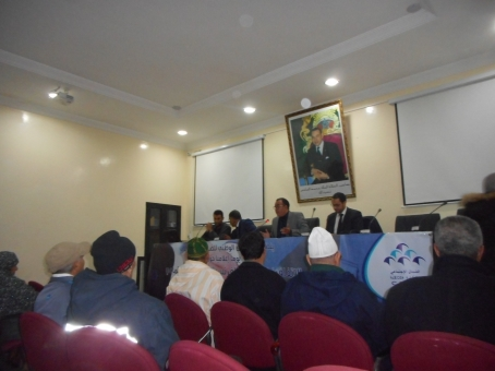 cnss - Journée d'information de la CNSS  sur la convention franco-marocaine de sécurité sociale Dscn4414