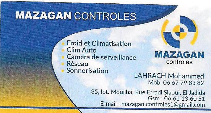 Climatisation, sonorisation, réseau : Mazagan Contrôles Mazaga10