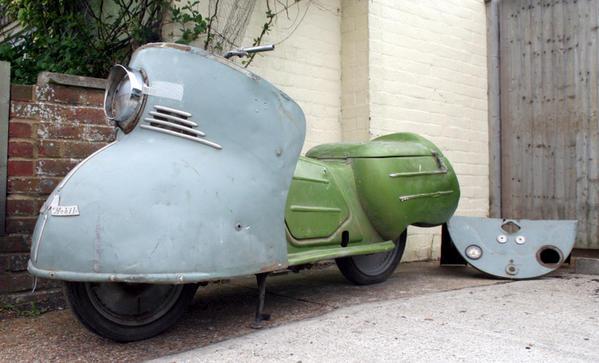 Les motos les plus moches de l'histoire ! (notre palmarès)  Maico10