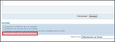 Notification de nouveaux post  Tempo110