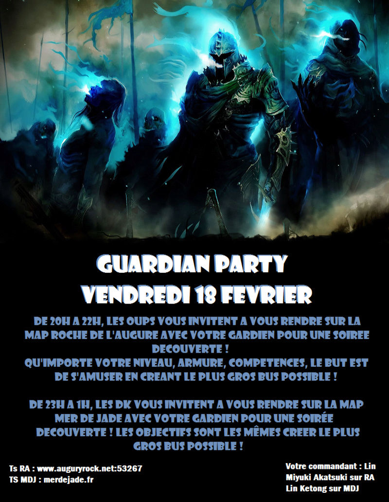 [Event] Guardian Party Guardi10