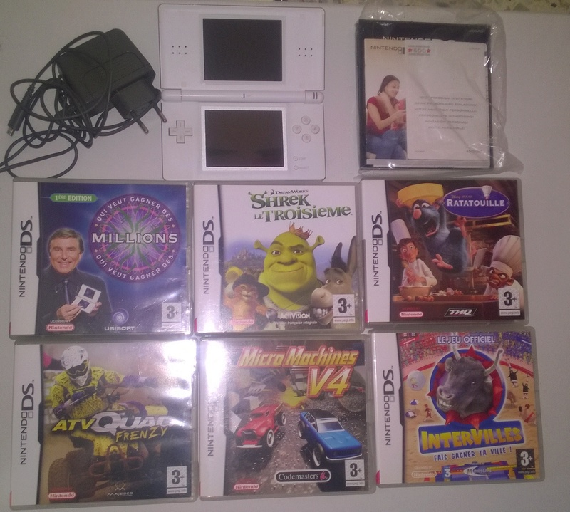 [ESTIM] Jeu Nintendo (NES-SNES-GB-WII-GC) Lot_ds10
