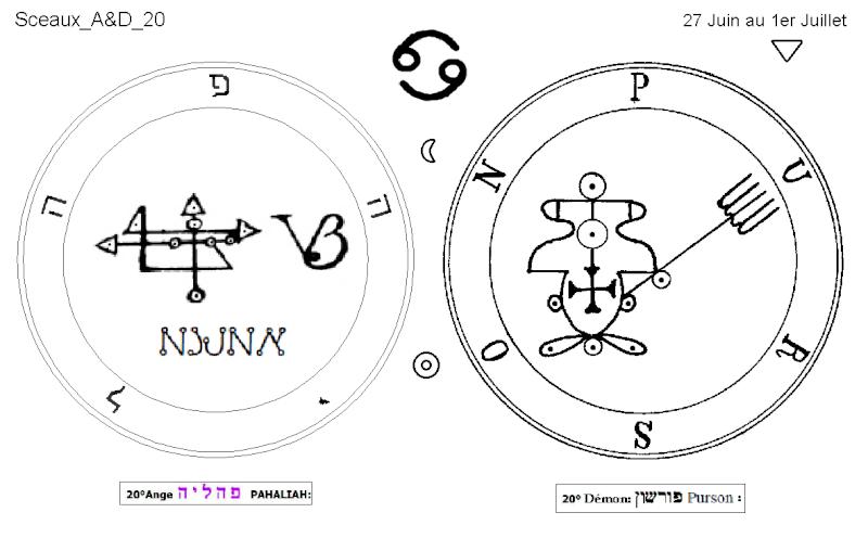 Les 144 sceaux Anges Demons The Master Mandala 3/6 Masc2010