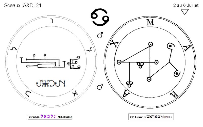 Les 144 sceaux Anges Demons The Master Mandala 3/6 Masc2110
