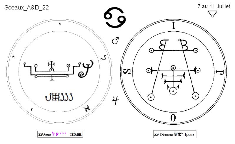 Les 144 sceaux Anges Demons The Master Mandala 3/6 Masc2210