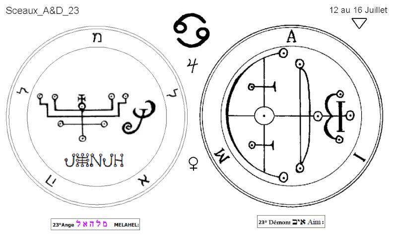 Les 144 sceaux Anges Demons The Master Mandala 3/6 Masc2310