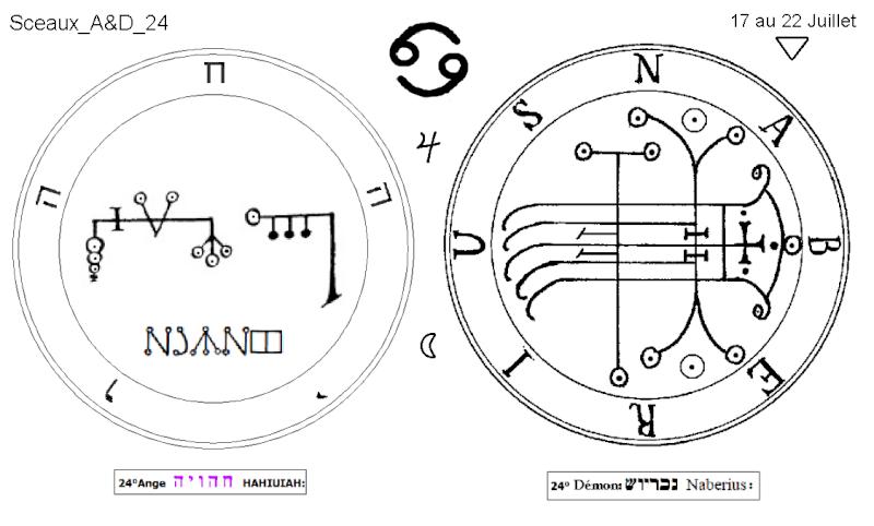 Les 144 sceaux Anges Demons The Master Mandala 3/6 Masc2410