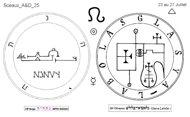 Les 144 sceaux Anges Demons The Master Mandala 3/6 Masc2510
