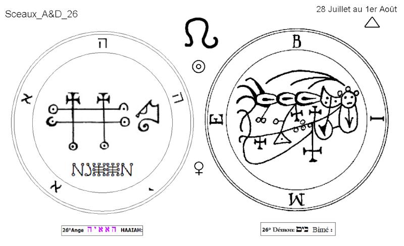 Les 144 sceaux Anges Demons The Master Mandala 3/6 Masc2610