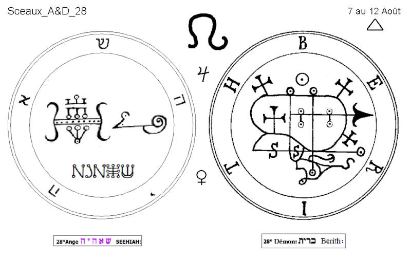 Les 144 sceaux Anges Demons The Master Mandala 3/6 Masc2810