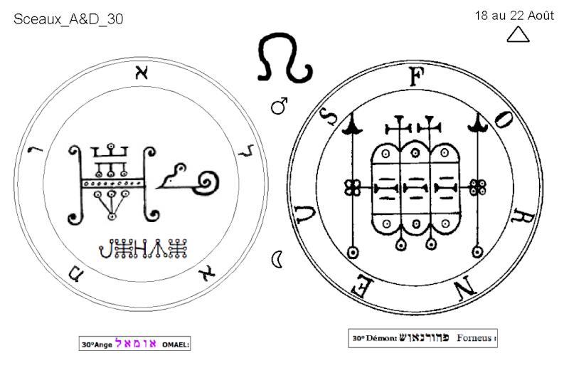 Les 144 sceaux Anges Demons The Master Mandala 3/6 Masc3010
