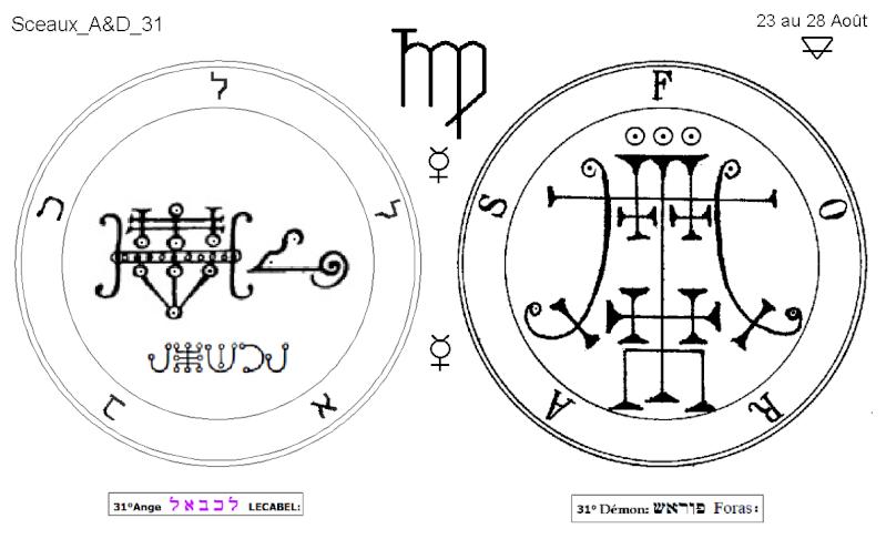 Les 144 sceaux Anges Demons The Master Mandala 3/6 Masc3110