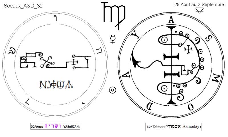 Les 144 sceaux Anges Demons The Master Mandala 3/6 Masc3210