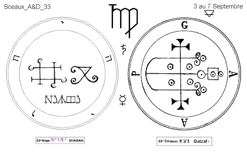 Les 144 sceaux Anges Demons The Master Mandala 3/6 Masc3310