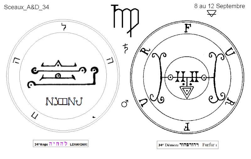 Les 144 sceaux Anges Demons The Master Mandala 3/6 Masc3410