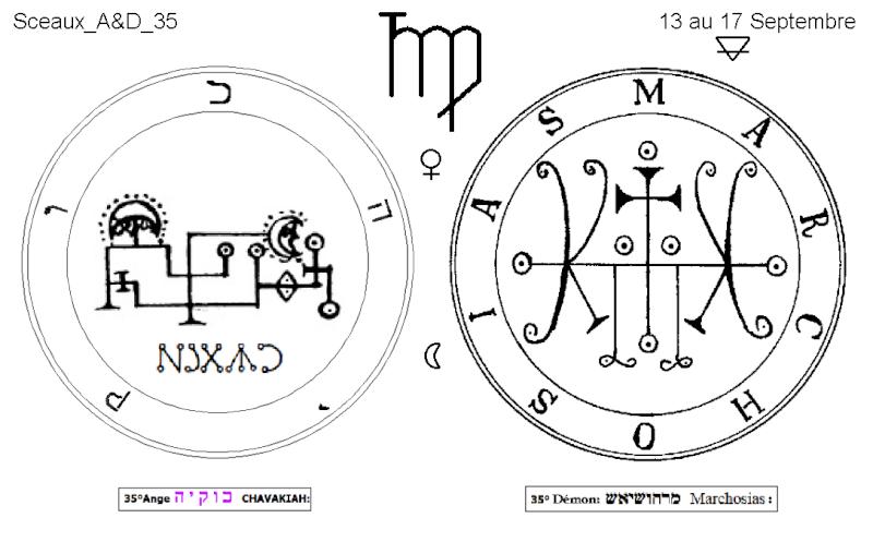 Les 144 sceaux Anges Demons The Master Mandala 3/6 Masc3510