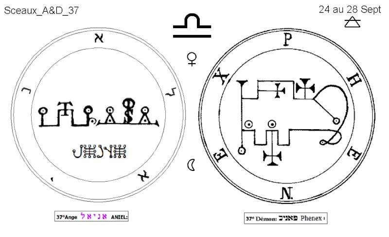 Les 144 sceaux Anges Demons The Master Mandala 4/6 Masc3710