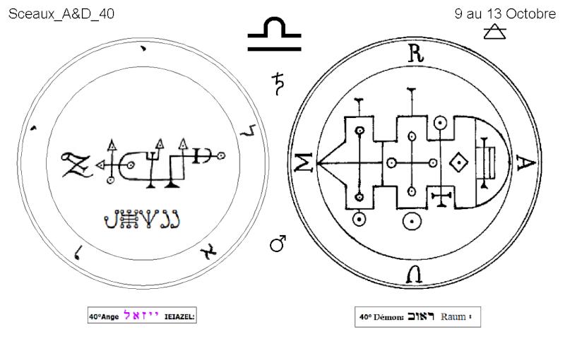 Les 144 sceaux Anges Demons The Master Mandala 4/6 Masc4010