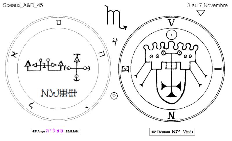 Les 144 sceaux Anges Demons The Master Mandala 4/6 Masc4510