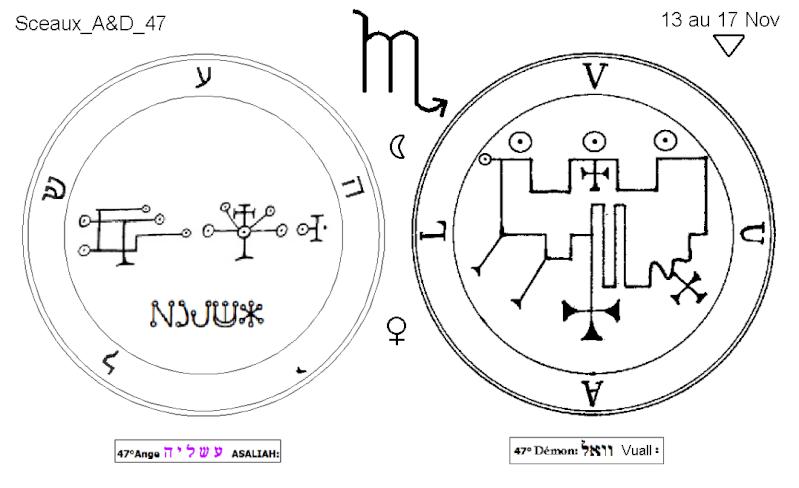 Les 144 sceaux Anges Demons The Master Mandala 4/6 Masc4710