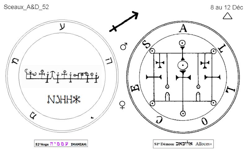 Les 144 sceaux Anges Demons The Master Mandala 4/6 Masc5210