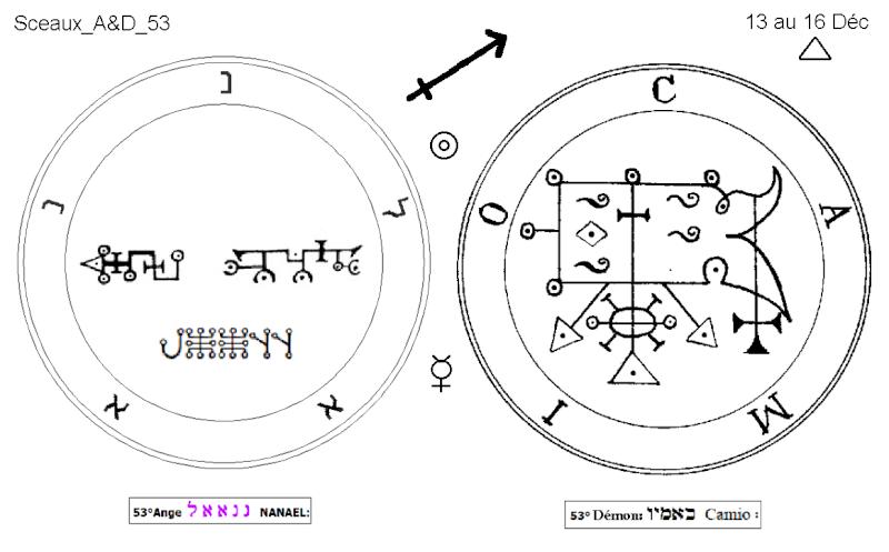 Les 144 sceaux Anges Demons The Master Mandala 4/6 Masc5310