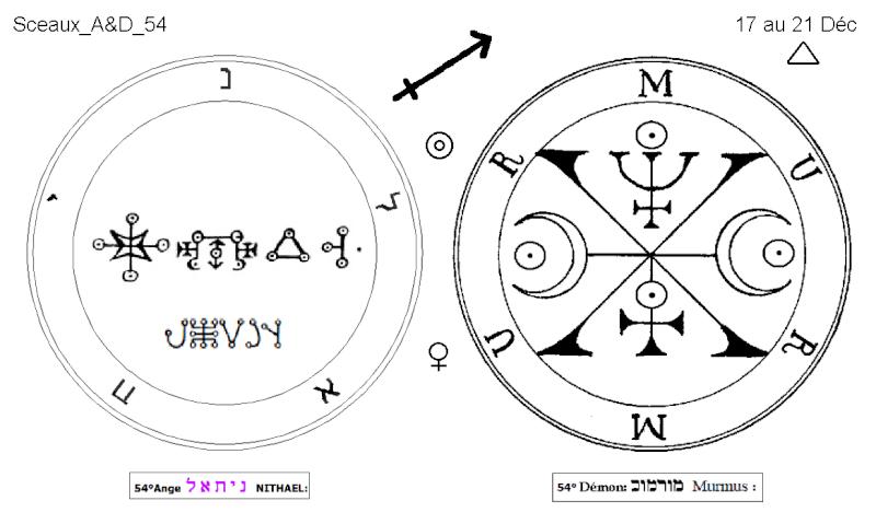 Les 144 sceaux Anges Demons The Master Mandala 4/6 Masc5410