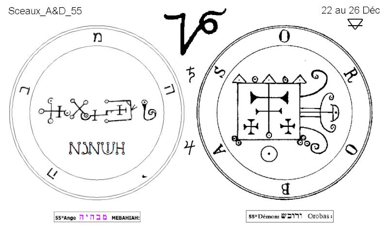Les 144 sceaux Anges Demons The Master Mandala 5/6 Masc5510
