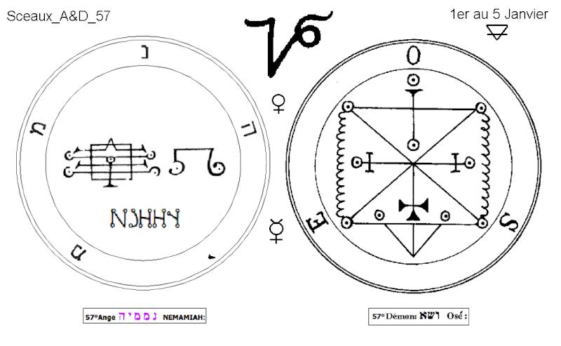 Les 144 sceaux Anges Demons The Master Mandala 5/6 Masc5710