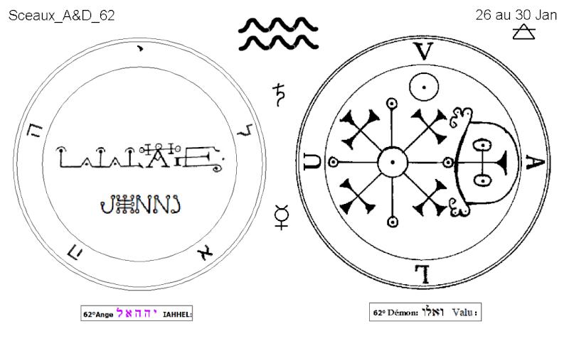 Les 144 sceaux Anges Demons The Master Mandala 5/6 Masc6210