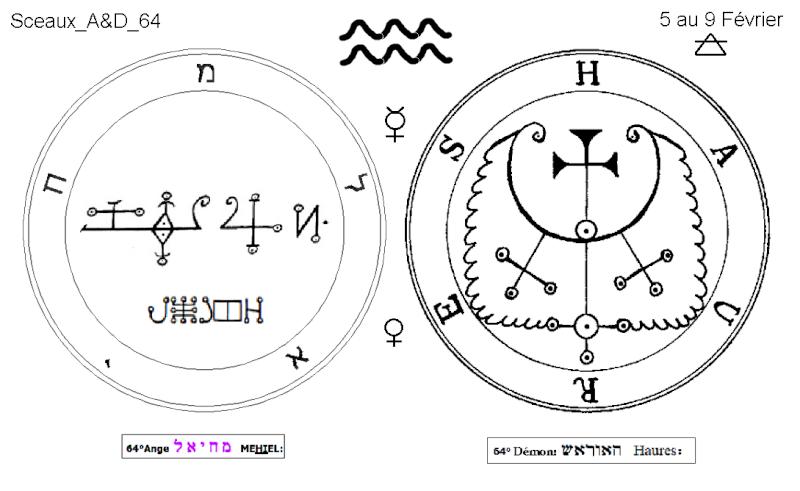 Les 144 sceaux Anges Demons The Master Mandala 5/6 Masc6410