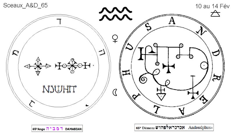 Les 144 sceaux Anges Demons The Master Mandala 5/6 Masc6510