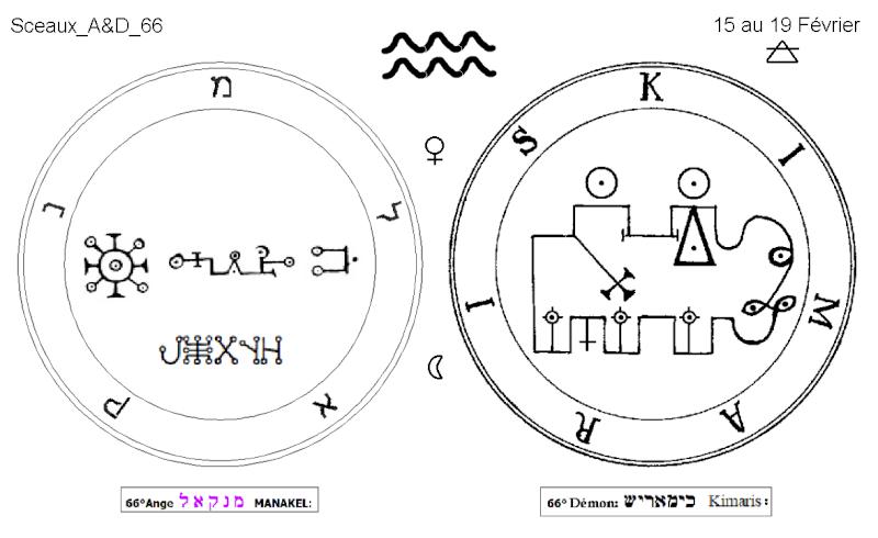 Les 144 sceaux Anges Demons The Master Mandala 5/6 Masc6610