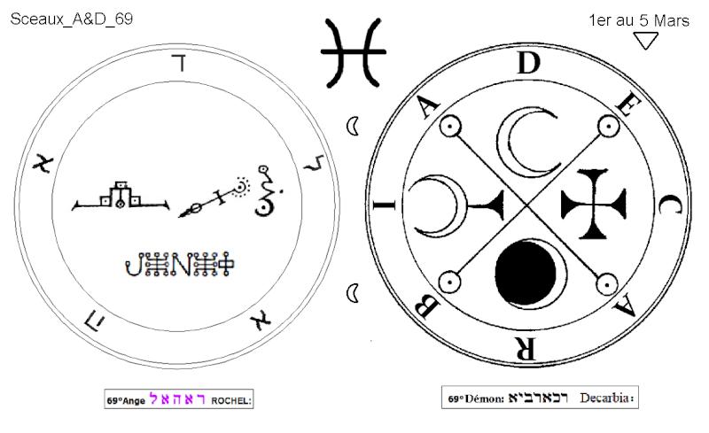 Les 144 sceaux Anges Demons The Master Mandala 5/6 Masc6910