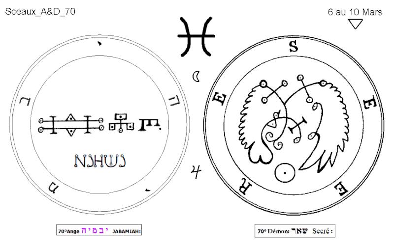 Les 144 sceaux Anges Demons The Master Mandala 5/6 Masc7010