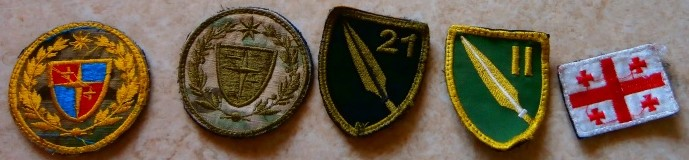 Patches from Afghanistan for identification Geo10