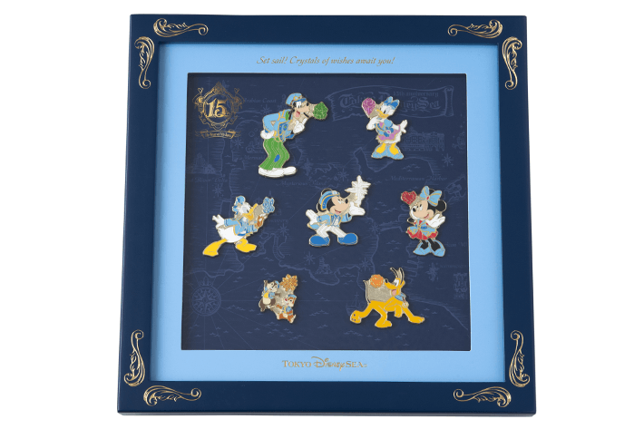 "[Tokyo DisneySea] : 15th anniversary ""The Year of Wishes"" merchandising 15_ans10"